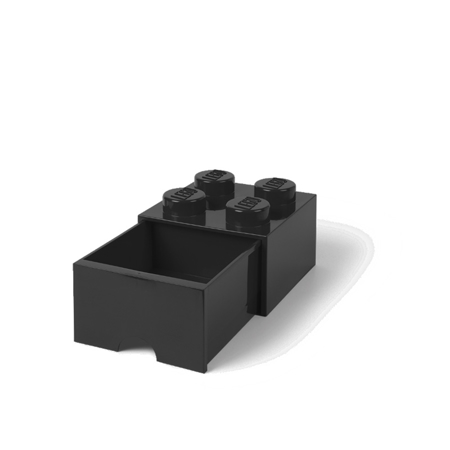 Picture of Lego® Storage Box with Drawers 4 Black
