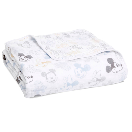 Picture of Aden+Anais® Classic Dream Blanket Mickey + Minnie (120x120)