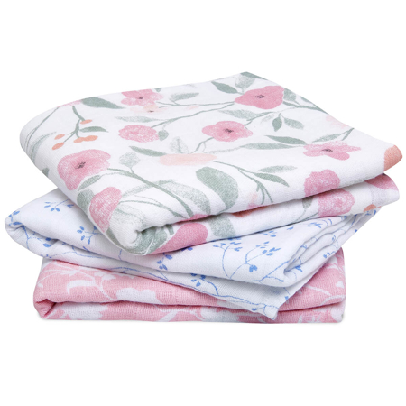 Picture of Aden+Anais® Muslin Squares 3-Pack Ma Fleur (70x70)