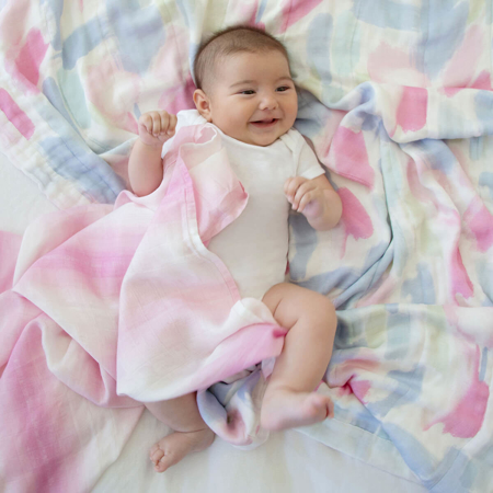 Picture of Aden+Anais® Silky Soft Swaddles 3-pack Florentine 120x120
