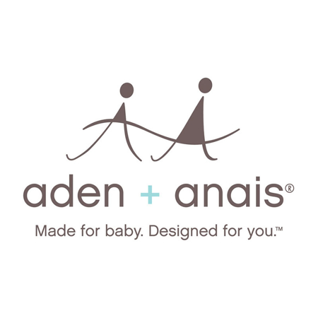 Picture of Aden+Anais® Silky Soft Swaddle Marine Gardens 120x120