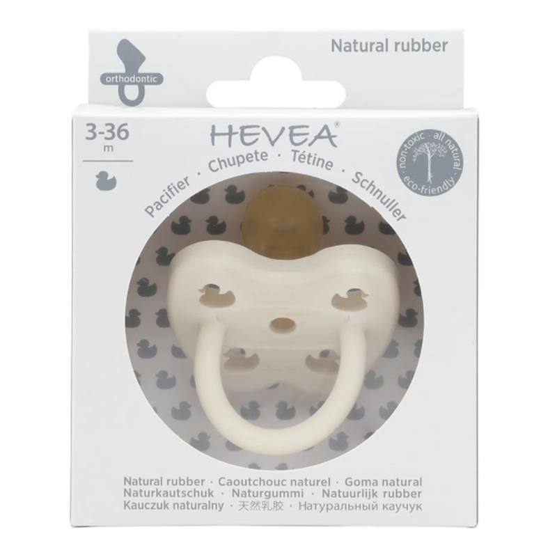 Picture of Hevea® Pacifier Orthodontic (3-36m) Snow White