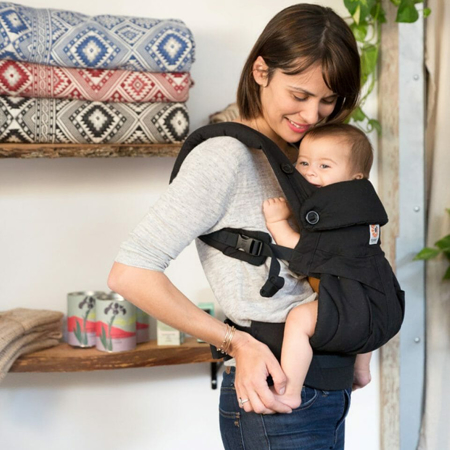 Picture of Ergobaby® 360 Baby Carrier All Carry Positions Pure Black