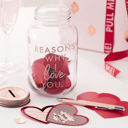 Picture of Ginger Ray® Date Jar Reasons Why I Love you