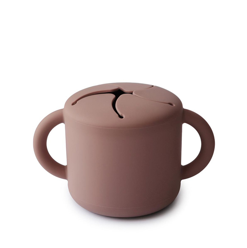 Picture of Mushie® Snack Cup Cloudy Mauve