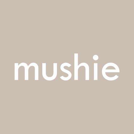 Picture of Mushie® Flower Teething Bracelet Black/Caramel/Natural 3-pack