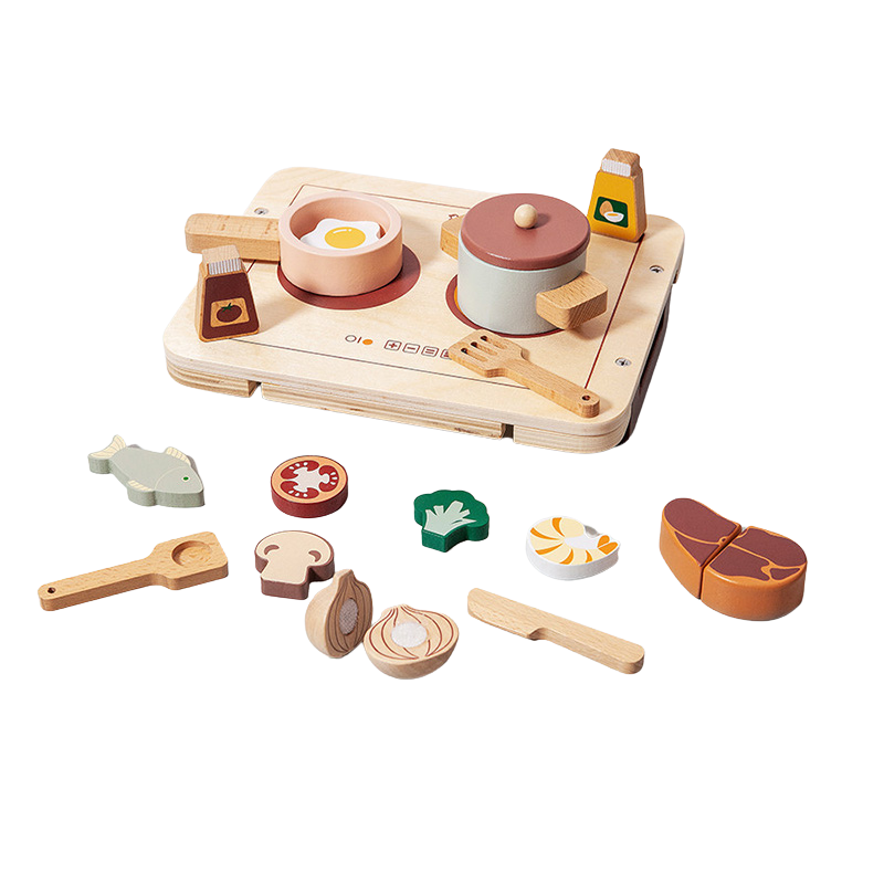 Picture of Petit Monkey® Wooden diner play set