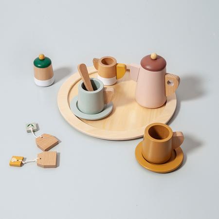 Picture of Petit Monkey® Wooden tea set