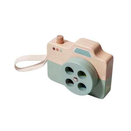 Picture of Petit Monkey® Wooden camera blue