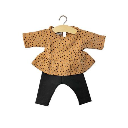 Picture of Minikane® Esemble dress in organic cotton Jacqueline  34cm