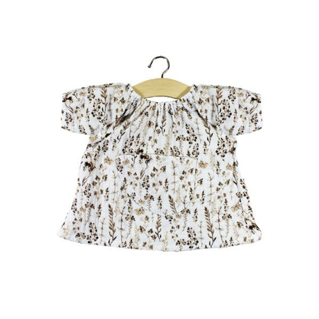 Minikane® Obleka za punčke Imprimé Fleurs 34cm