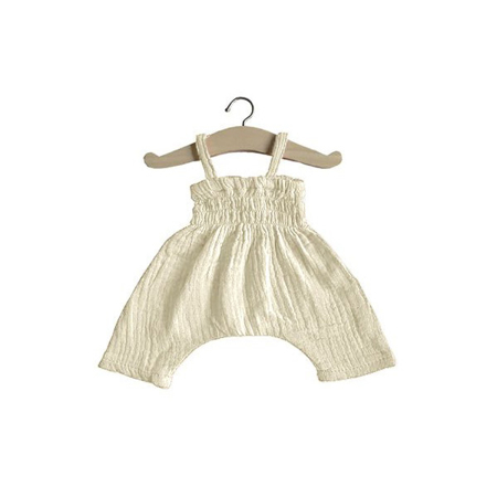 Picture of Minikane® Esemble dress in organic cotton Ecru 34cm