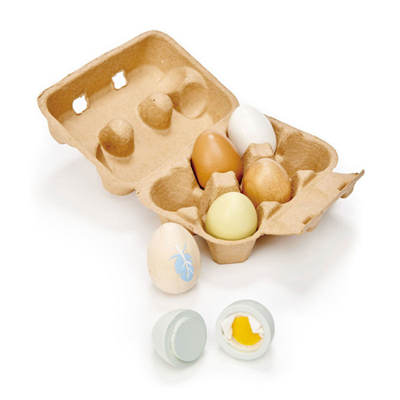 Picture of Tender Leaf Toys® Wooden Eggs