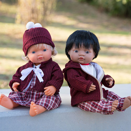 Picture of Miniland® Cold weather dress set 38 cm