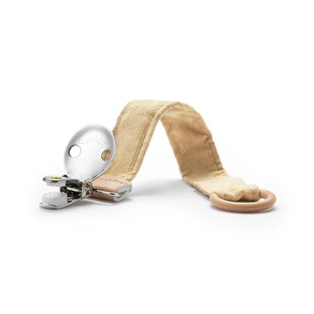 Elodie Details® Pacifier Clip Alcantara