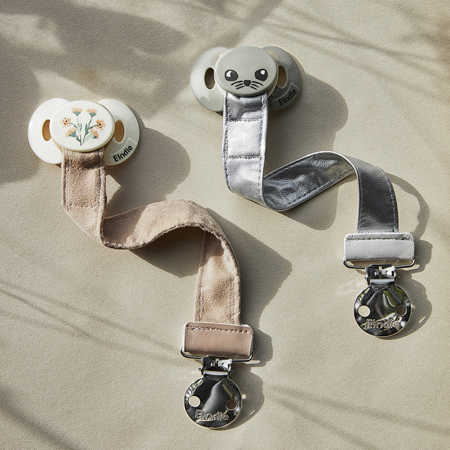 Picture of Elodie Details® Pacifier Clip Alcantara