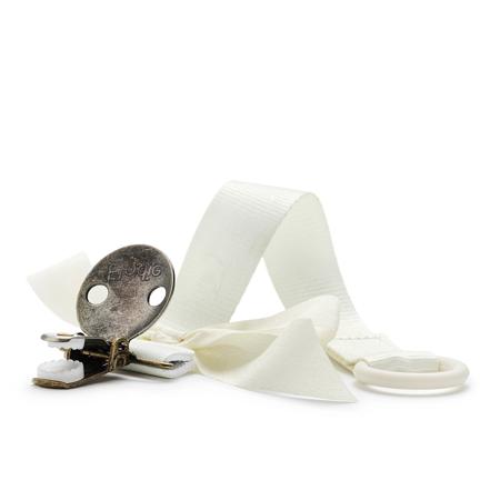 Elodie Details® Pacifier Clip Vanilla White