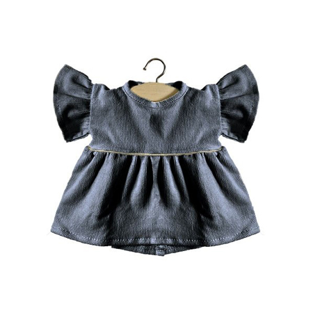 Picture of Minikane® Velvet Daisy dress Gris 34cm