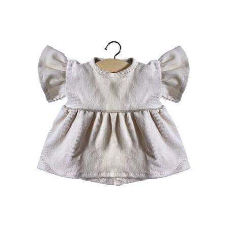 Minikane® Velvet Daisy dress Milleraies Ecru 34cm