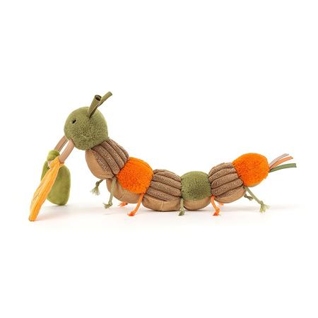 Jellycat® Christopher Caterpillar Activity Toy 12x23