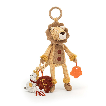 Picture of Jellycat® Cordy Lion Activity Toy 28x9