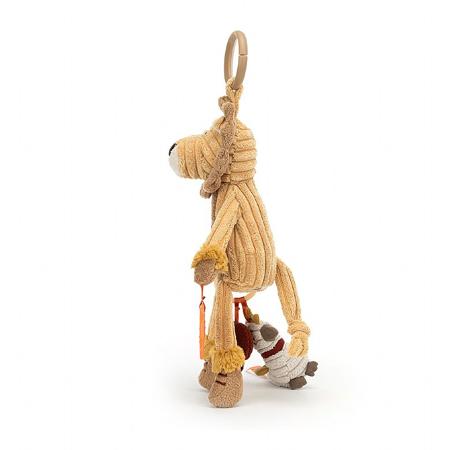 Jellycat® Cordy Lion Activity Toy 28x9