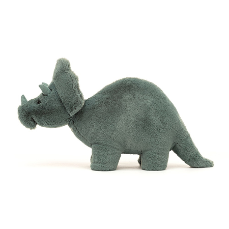 Jellycat® Soft Toy Fossilly Triceratops 17x11