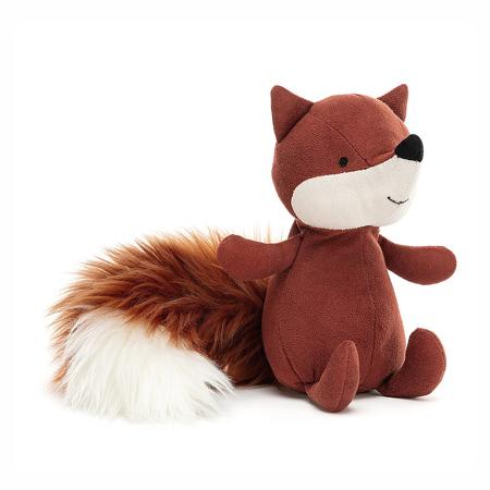Jellycat® Soft Toy Suedetta Fox 17x5
