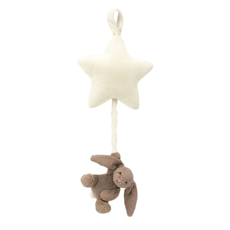 Picture of Jellycat® Bashful Beige Bunny Musical Pull 28cm