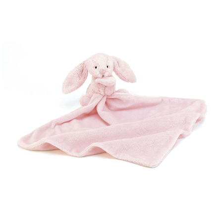 Jellycat® Bashful Pink Bunny Soother 34cm
