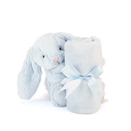 Picture of Jellycat® Bashful Blue Bunny Soother 34cm