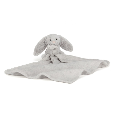Jellycat® Bashful Silver Bunny Soother 34cm