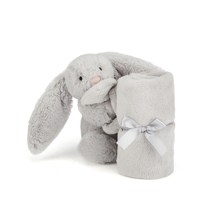 Picture of Jellycat® Bashful Silver Bunny Soother 34cm