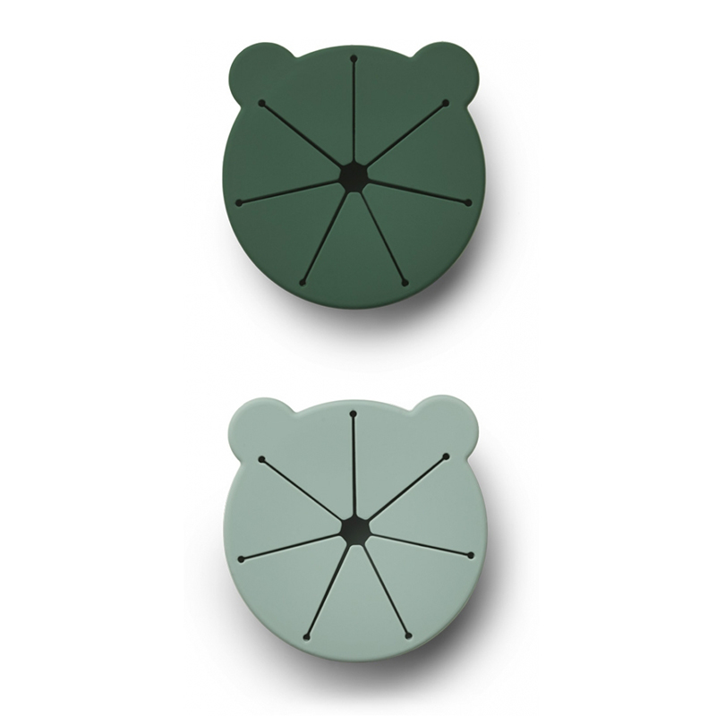Picture of Liewood® Kelly Snack Cup 2 pack Mr Bear Green Mix