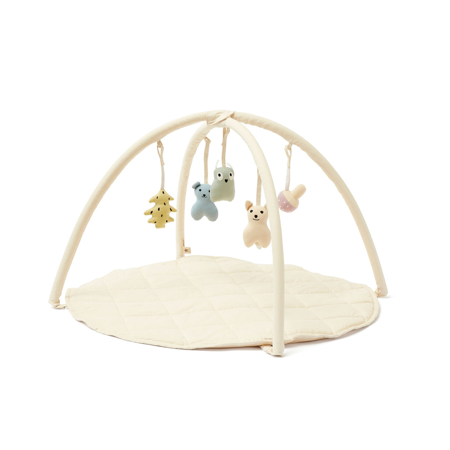 Kids Concept® Babygym textile Off  White