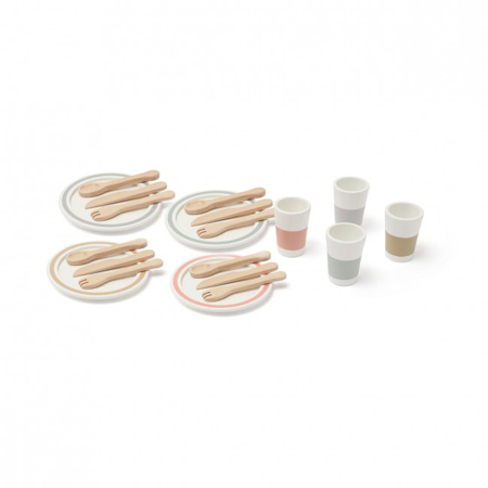 Picture of Kids Concept® Dinnerware 4 play set BISTRO