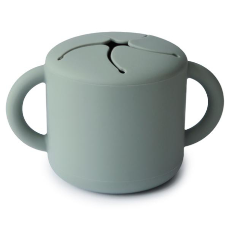 Picture of Mushie® Snack Cup Cambridge Blue