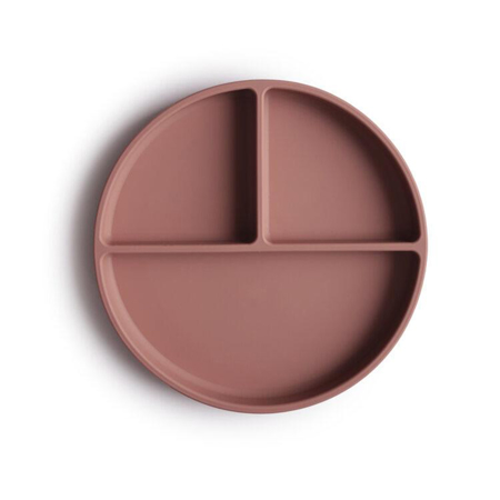 Picture of Mushie® Silicone Plate Cloudy Mauve