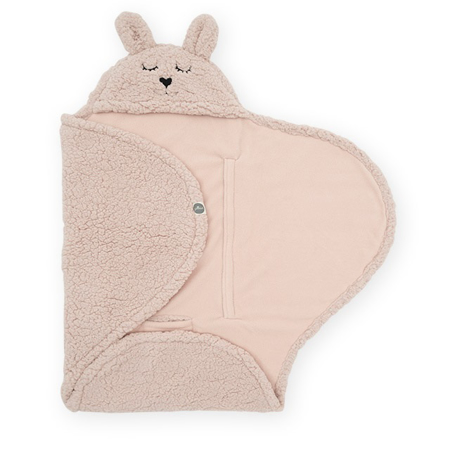 Picture of Jollein® Wrap blanket Bunny Pale Pink 105x100