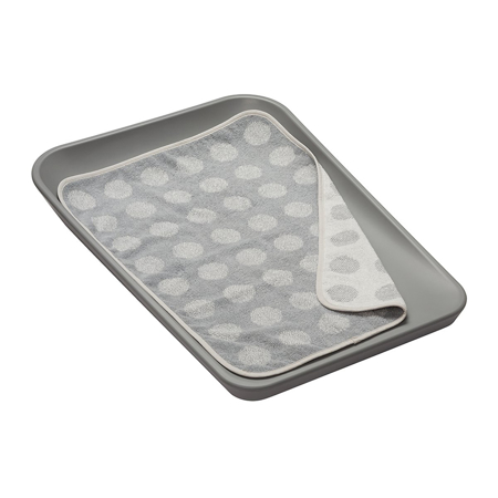 Leander® Topper for changing mat Cool Grey 65x45