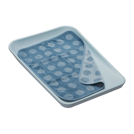 Leander® Topper for changing mat Dusty Blue 65x45