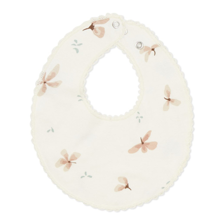 Picture of CamCam® Jersey Teething Bib - GOTS Windflower Creme