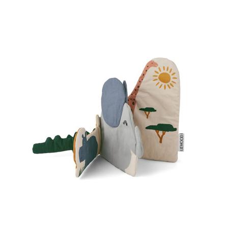 Liewood® Kala Fabric Book Safari mix