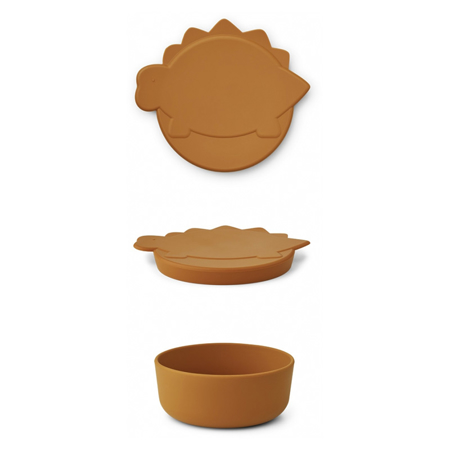 Picture of Liewood® Charlot snack box Dino Mustard