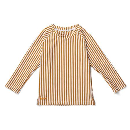 Picture of Liewood® Noah swim tee seersucker Stripe Mustard