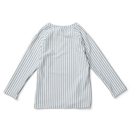 Picture of Liewood® Noah swim tee seersucker Stripe Sea Blue/White