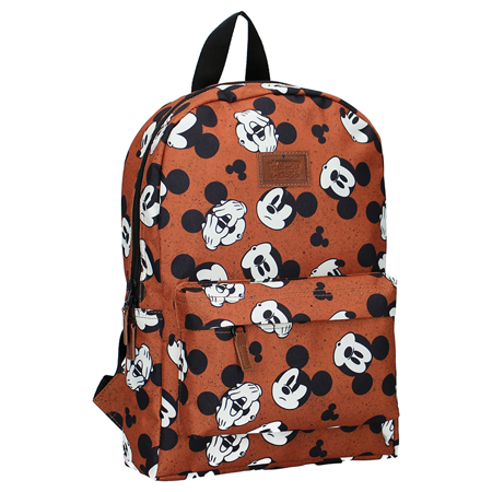 Picture of Disney's Fashion® Backpack Mickey Mouse My Own Way Brown