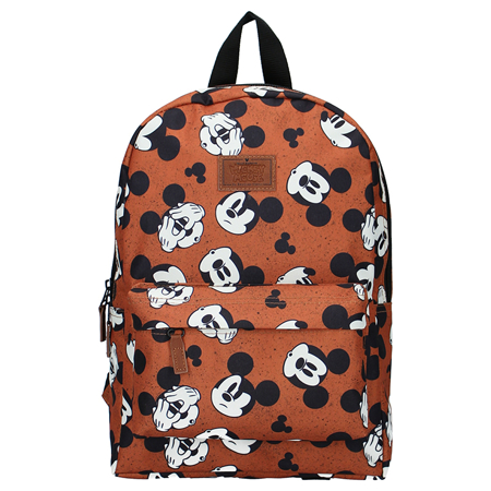 Disney's Fashion® Backpack Mickey Mouse My Own Way Brown
