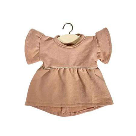 Minikane® Daisy dress Rose Nude 34cm