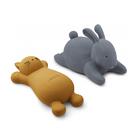 Picture of Liewood® Vikky bath toys Cat Mustard